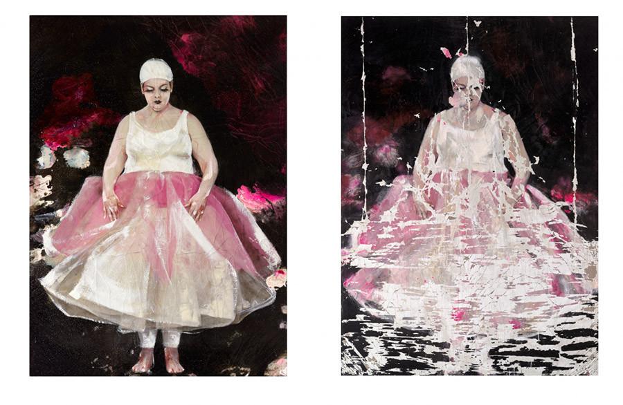 Cuadro de la artista y pintora Lita Cabellut, 15