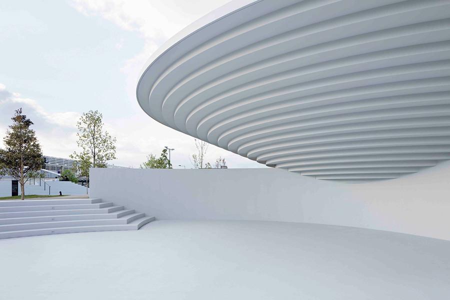 Diseño de arquitectura Plaza Estación de Tenri estudio Nendo, imagen 4