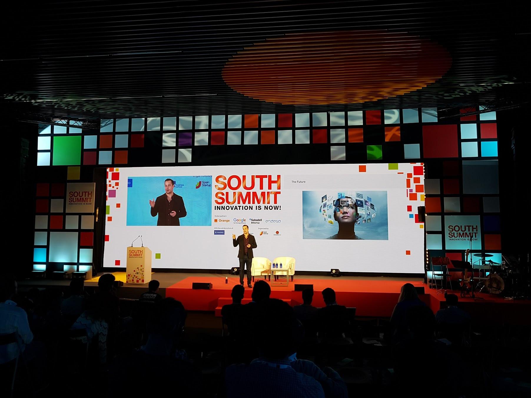 Imagen 3 del evento South Summit 2016 celebrado del 5 al 7 de octubre de 2016 en La Nave, Madrid