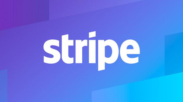 Logo de Stripe, la compañía tecnológica de pagos online.