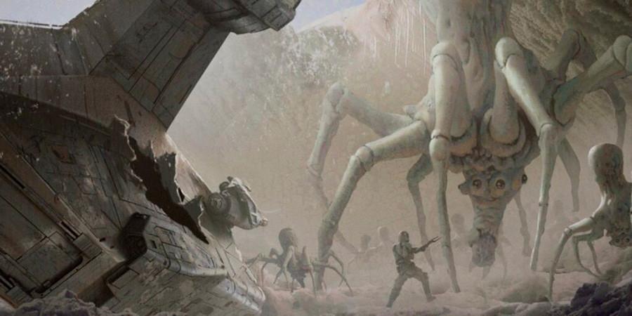 Ilustración, concept art de la serie The Mandalorian, arte nº 2