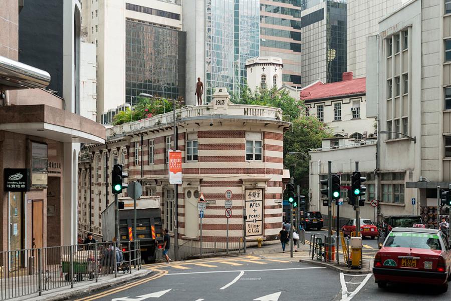 Instalación de Antony Gormley Event Horizon en Hong Kong, vista 13