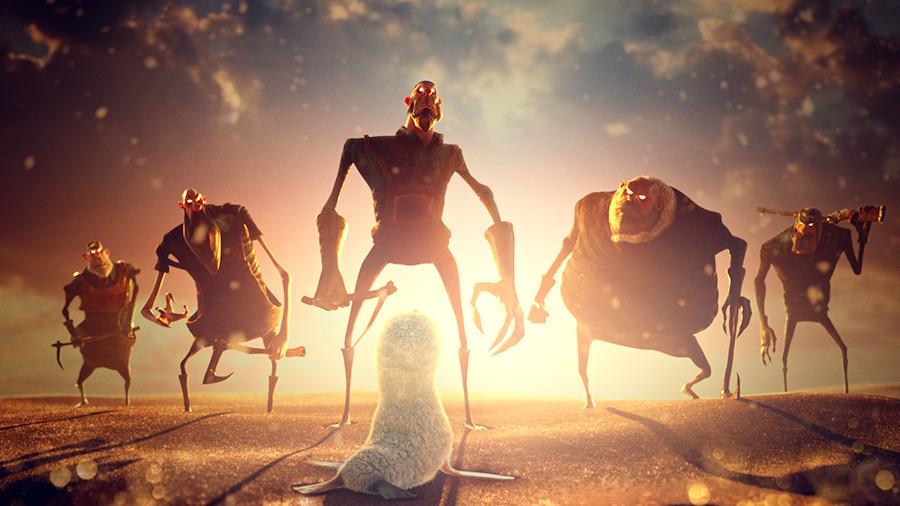 Imagen del corto Dream, obra de Zombie Studio