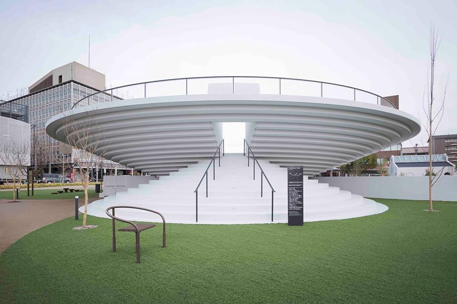 Diseño de arquitectura Plaza Estación de Tenri estudio Nendo, imagen 3