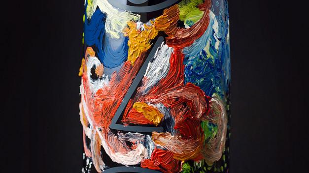 Marca de vino La Ballestera; vino, arte y diseño en la frontera.