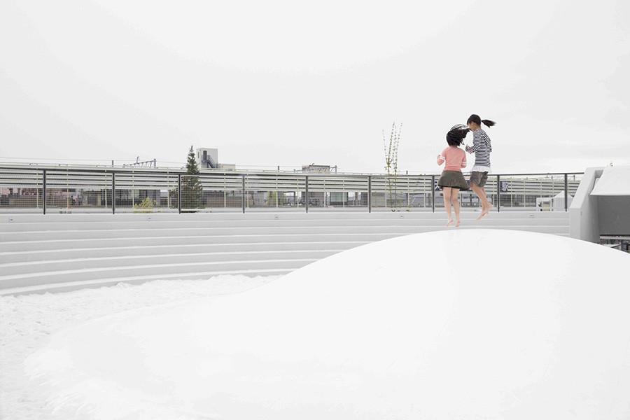 Diseño de arquitectura Plaza Estación de Tenri estudio Nendo, imagen 6
