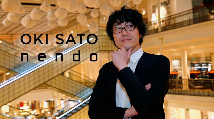 Oki Sato es un diseñador y arquitecto japonés que nació en Toronto (Canadá) el 24 de diciembre de 1977. Oki Sato es el director del estudio de diseño Nendo que fundó en el año 2002 en Tokio.