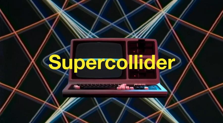 Supercollider es un vídeo animado realizado por el director creativo y animador estadounidense Sean Pecknold para el músico electrónico francés Alexandre Bazin. Una computadora ejecuta un programa de software con la esperanza de encontrar algún propósito en su vida.