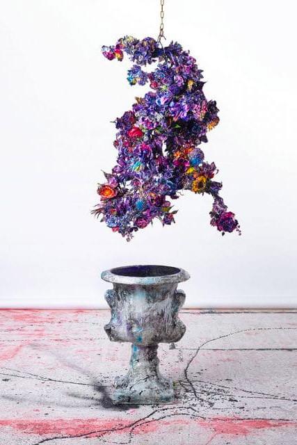 Flowers & Installations de la artista Lita Cabellut