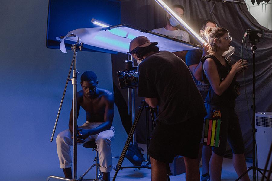 Grabación de la película Bloom de Coraima Mengíbar