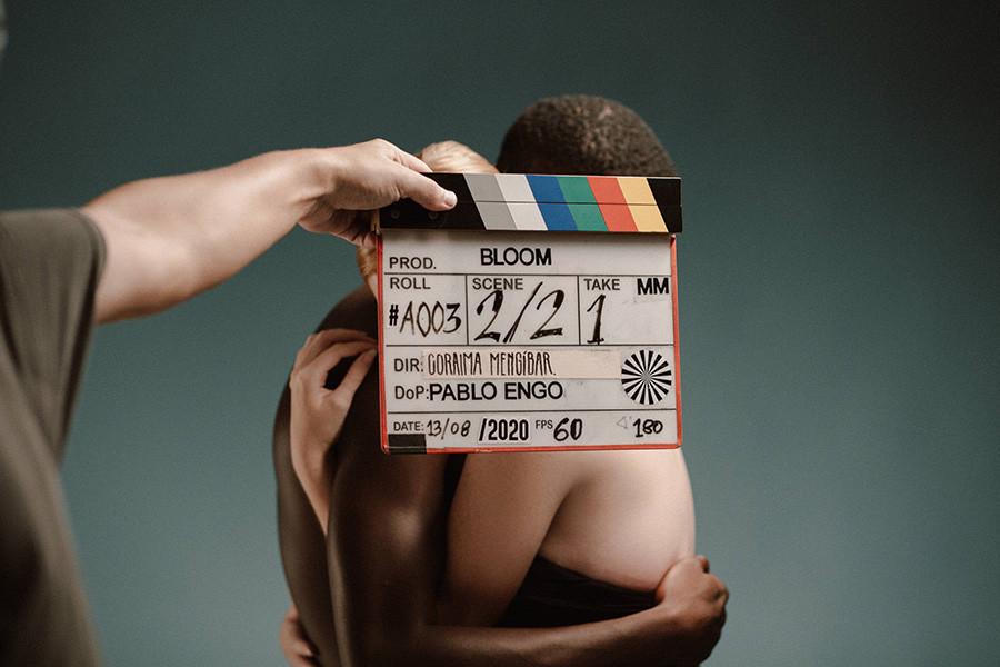 Grabación de la película Bloom de Coraima Mengíbar nº 2