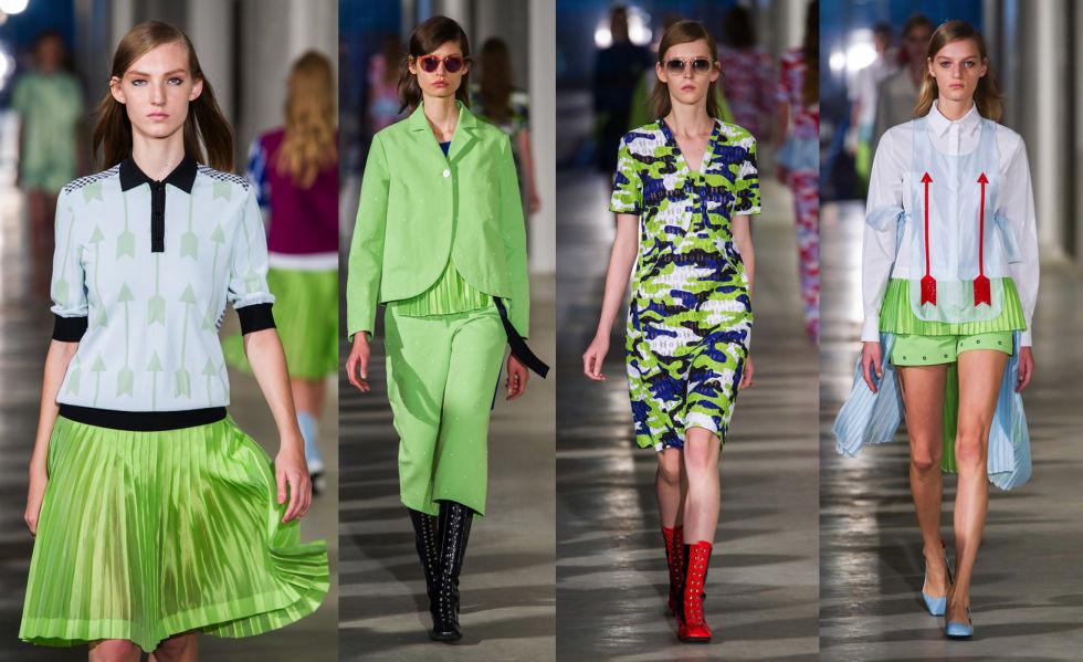 Color verde Pantone 'greenery' 15-0343 el color para el próximo 2017 que dominará enlas colecciones de moda, en la decoración y en los diseños en general, evoca el verde de la hierba y de los árboles con un ligero tinte amarillo