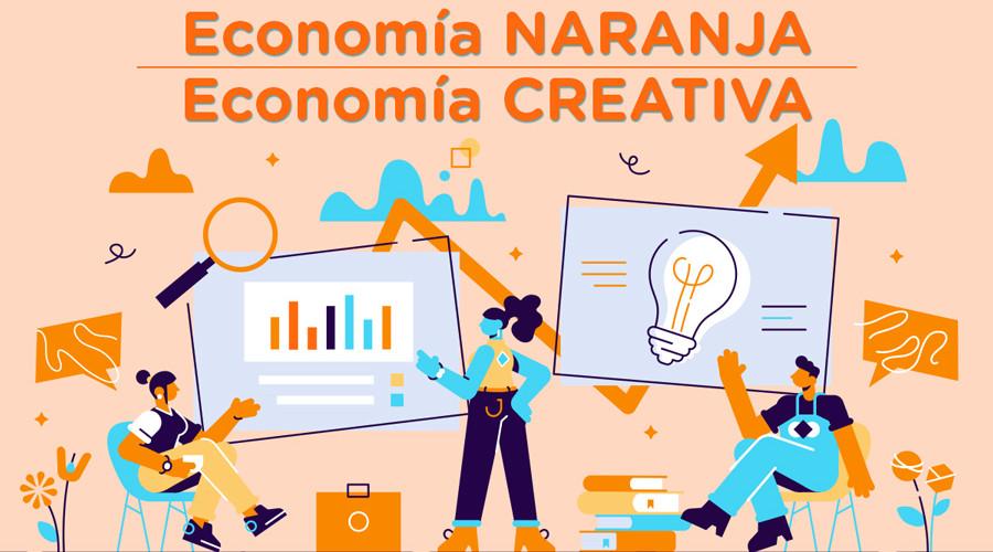 La economía naranja es lo que se conoce como economía creativa o la economía que hace relación a las industrias creativas.