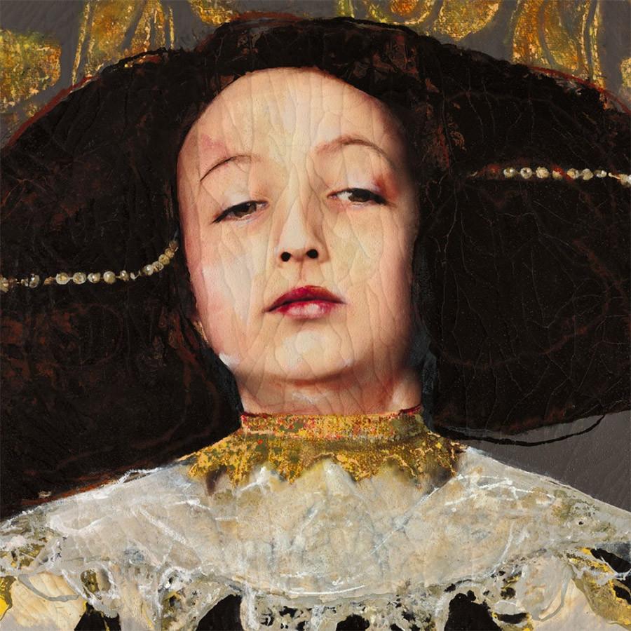 Cuadro de la artista y pintora Lita Cabellut, 19