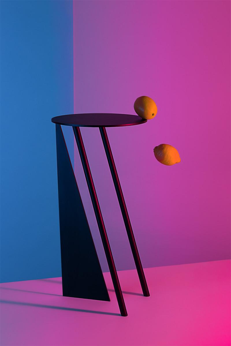 Diseño de interiores, mesa stabile