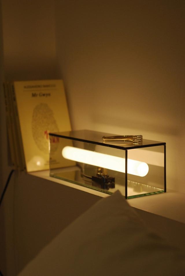 Diseño de interiores, lámpara diana