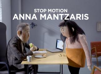 Anna Mantzaris es una directora de animación sueca especializada en animación stop motion.
