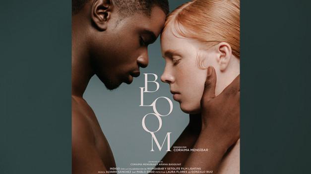 Bloom es el nuevo proyecto audiovisual creado por la realizadora Coraima Mengíbar, en el que la creativa malagueña se sumerge por primera vez en los efectos VFX y el 3D Makeup acompañada por la artista Aitana Basquiat y la producción de índigo.