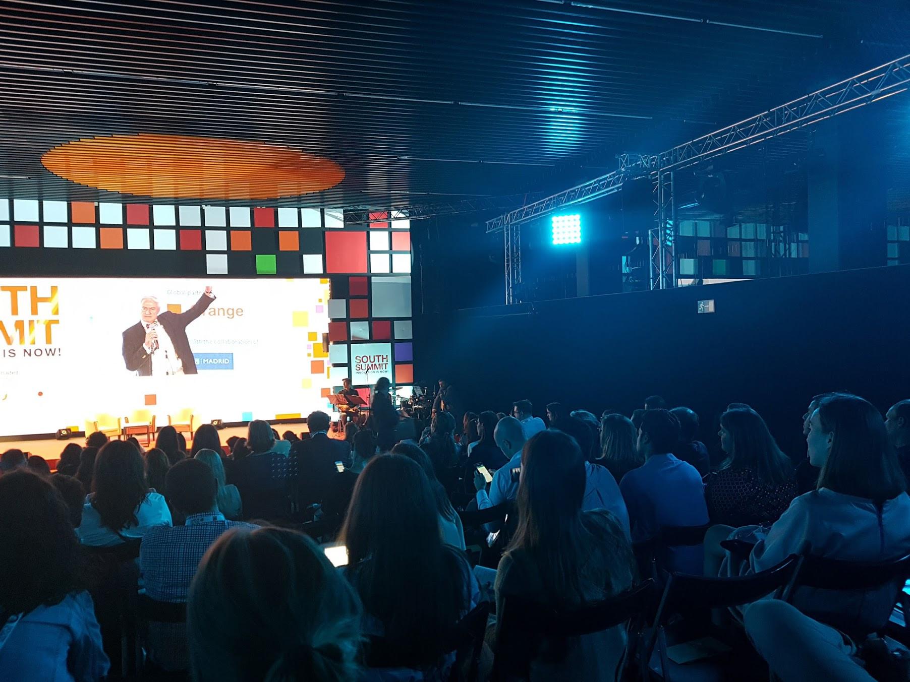 Imagen 7 del evento South Summit 2016 celebrado del 5 al 7 de octubre de 2016 en La Nave, Madrid