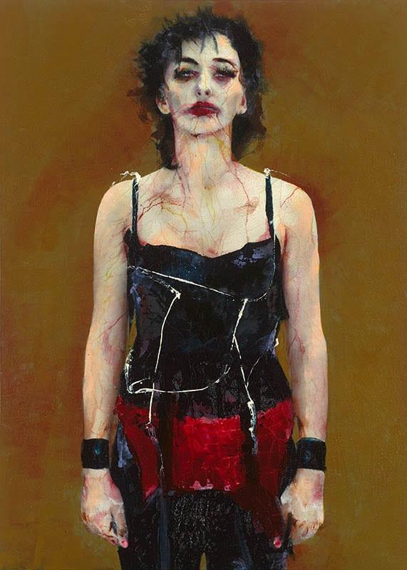 Cuadro de la artista y pintora Lita Cabellut, 18