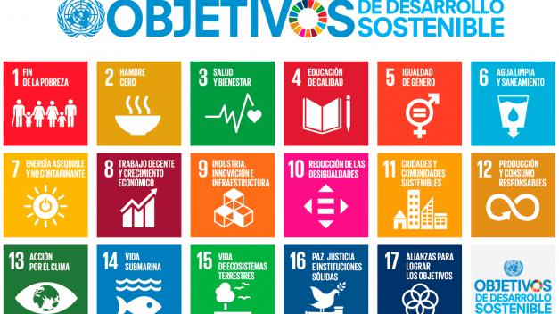 Los ODS objetivos de desarrollo sostenible 2030.
