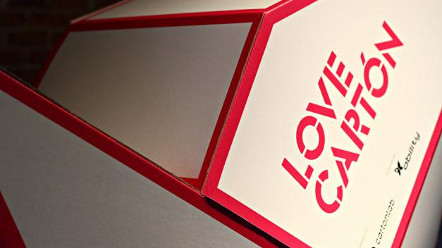 Evento Love Cartón que se celebra entre el 26 y 29 de septiembre en Matadero Madrid.