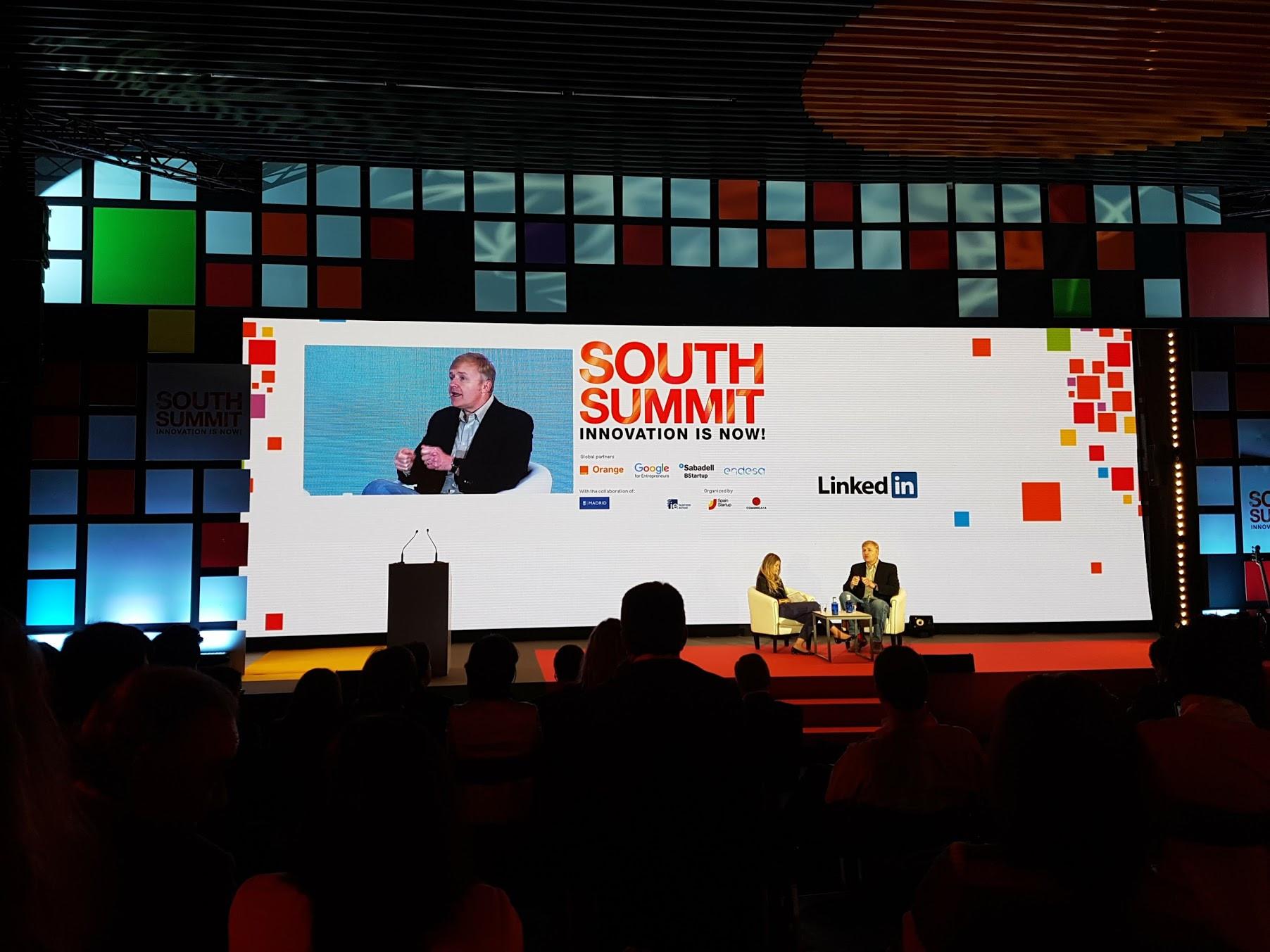 Imagen 4 del evento South Summit 2016 celebrado del 5 al 7 de octubre de 2016 en La Nave, Madrid