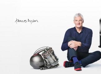 El ingeniero e inventor James Dyson.
