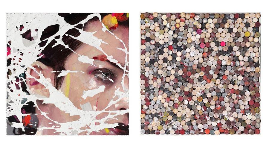 Cuadro de la artista y pintora Lita Cabellut, 14