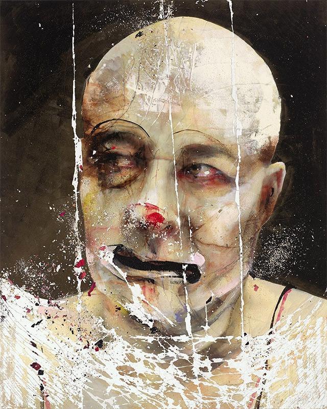 Cuadro de la artista y pintora Lita Cabellut, 2