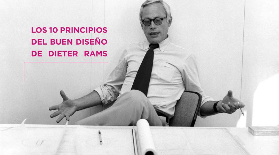 Los 10 principios del buen diseno de Dieter Rams.
