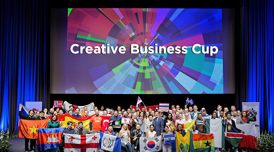 La Red de Industrias Creativas (RIC) e Innova&acción son los encargados de organizar en España la Creative Business Cup. La Creative Business Network es la mayor red global del sector creativo y cultural.