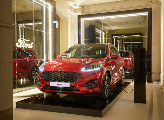 El nuevo Ford Kuga Plug-in Hybrid en el evento de diseño e interiorismo Casa Decor.