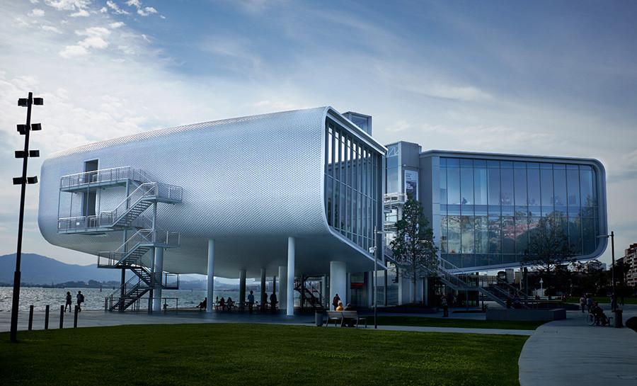 Centro Botín en Santander realizado por el arquitecto Renzo Piano