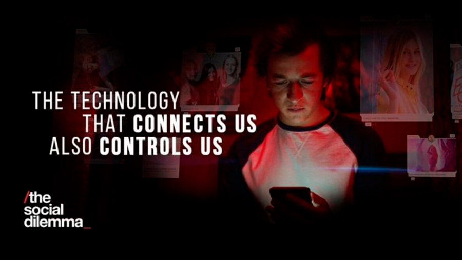 Imagen del documental de Netflix El Dilema de las Redes Sociales