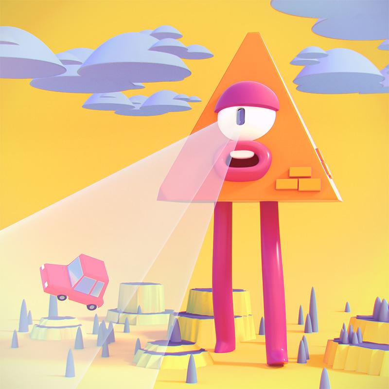 Ilustracion 2 3D animada, The eater of worlds, Cosmik Madness