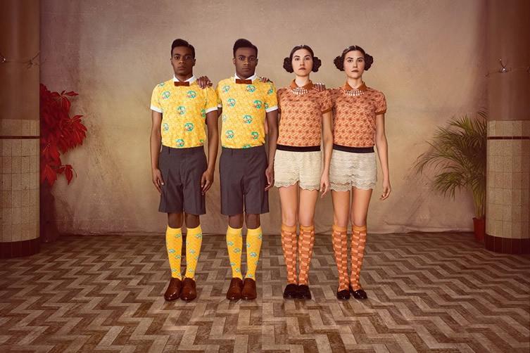 Pieza fotográfica de la primera colección, inspirada en el segundo albúm musical de Stromae
