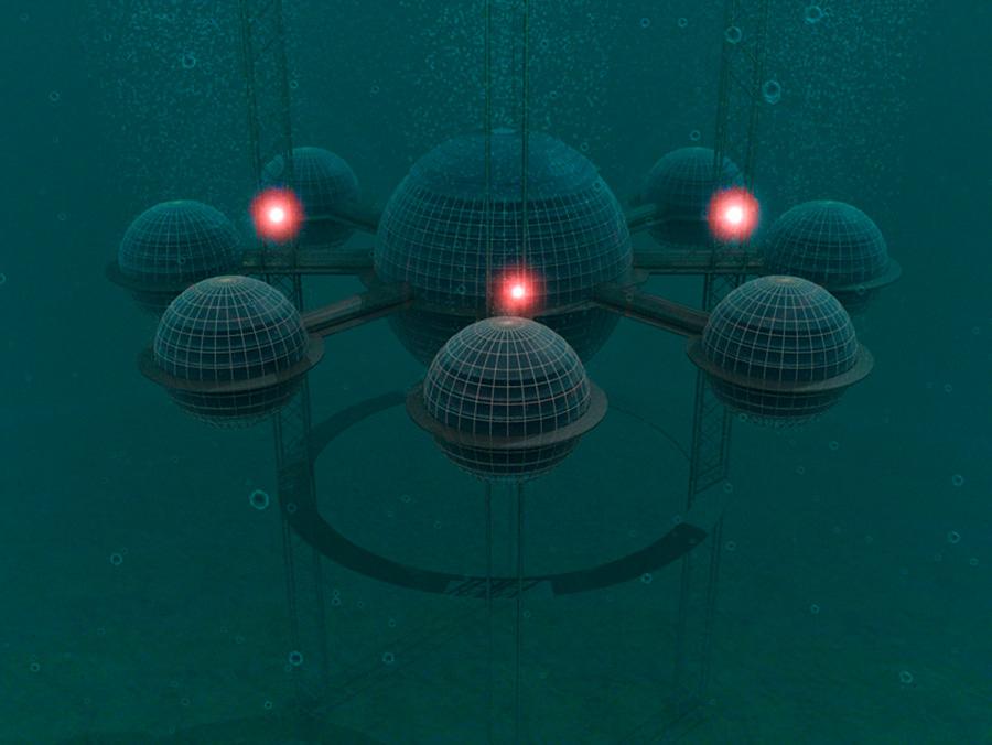 Sub-biosphere 2 es un proyecto de de ecosistema autónomo sostenible diseñado por Phil Pauley