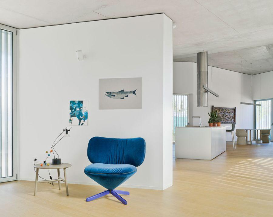 Diseño del Sillón Tortuga, obra del diseñador Isaacc Piñeriro para la marca española de diseño industrial Sancal, imagen 2