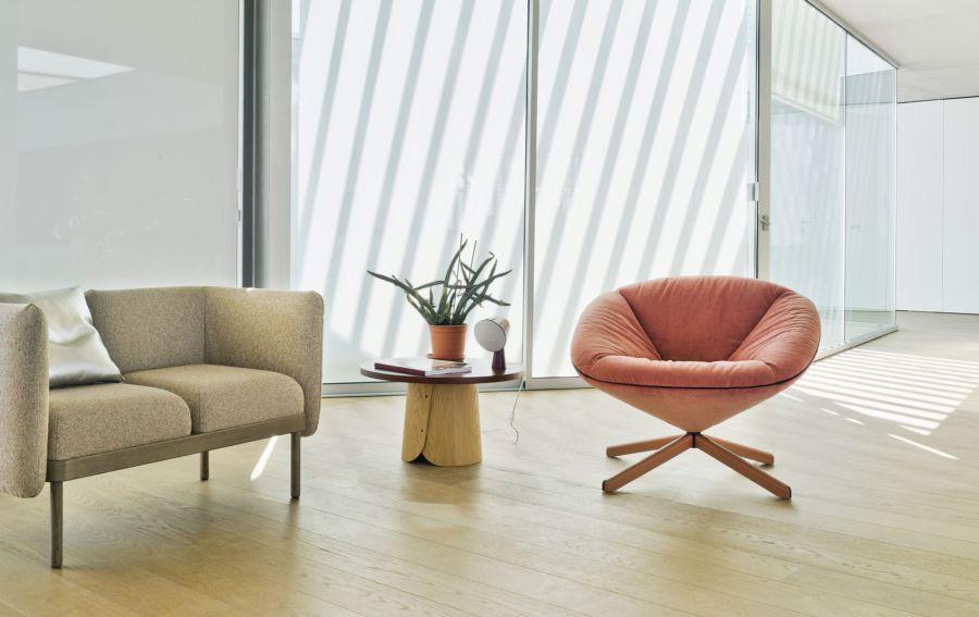 Diseño del Sillón Tortuga, obra del diseñador Isaacc Piñeriro para la marca española de diseño industrial Sancal, imagen 3