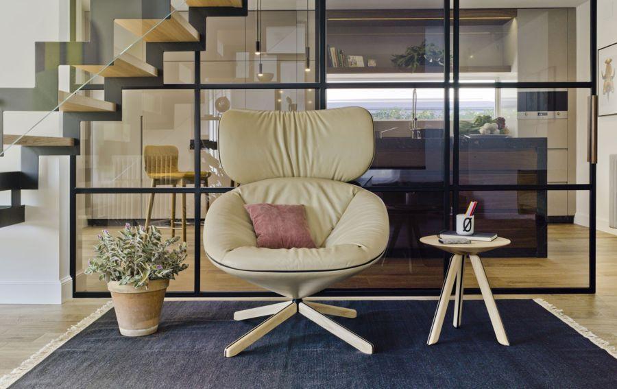 Diseño del Sillón Tortuga, obra del diseñador Isaacc Piñeriro para la marca española de diseño industrial Sancal, imagen 4