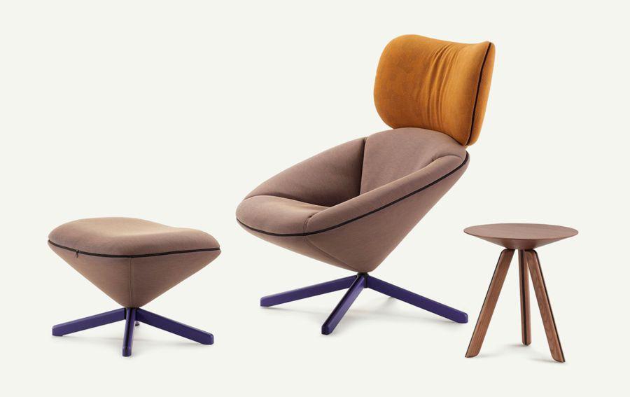 Diseño del Sillón Tortuga, obra del diseñador Isaacc Piñeriro para la marca española de diseño industrial Sancal, imagen 6