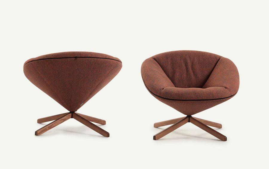 Diseño del Sillón Tortuga, obra del diseñador Isaacc Piñeriro para la marca española de diseño industrial Sancal, imagen 12