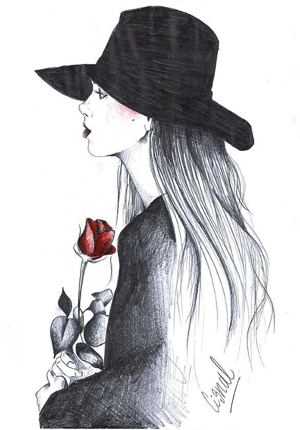 Ilustracion 1 de la artista ilustradora Rita Cisnal