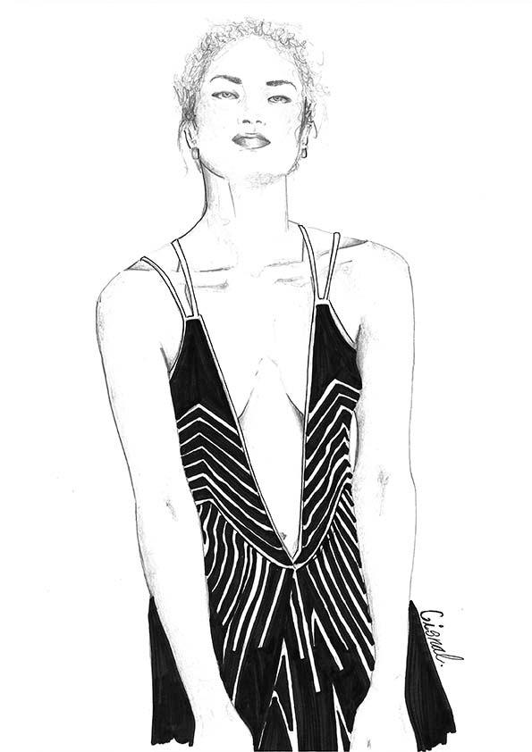 Ilustracion 2 de la artista ilustradora Rita Cisnal
