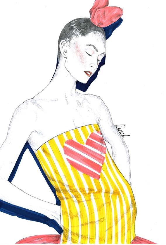Ilustracion 3 de la artista ilustradora Rita Cisnal