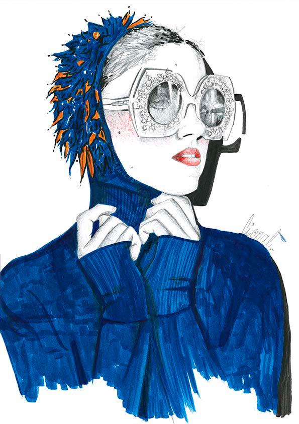 Ilustracion 4 de la artista ilustradora Rita Cisnal