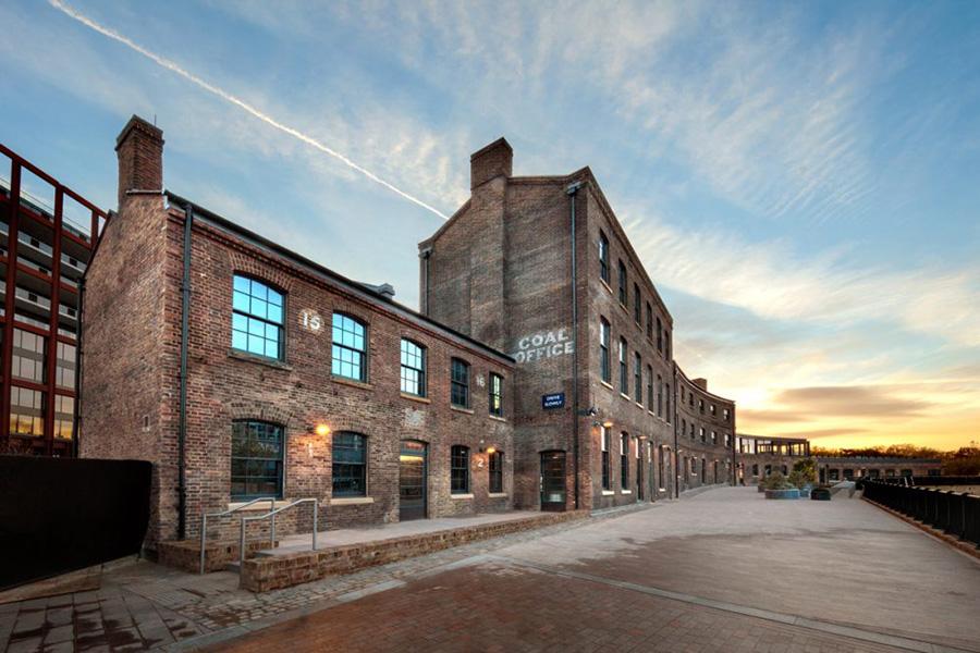 La sede de Design Research Studio ha sido trasladada a un antiguo almacén de carbón en Kings Cross en la ciudad de Londres