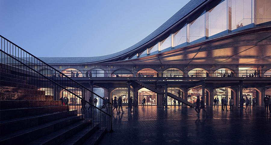El estudio de diseño y arquitectura Heatherwick a elaborado el proyecto de Coal Drop