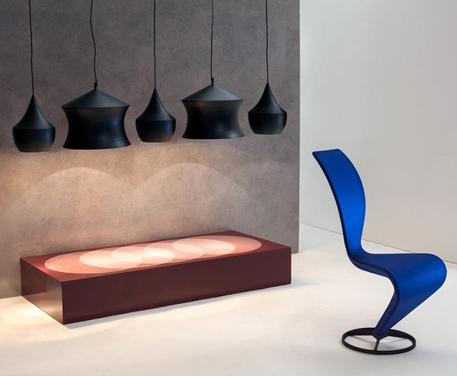 La silla S famoso diseño de Tom Dixon